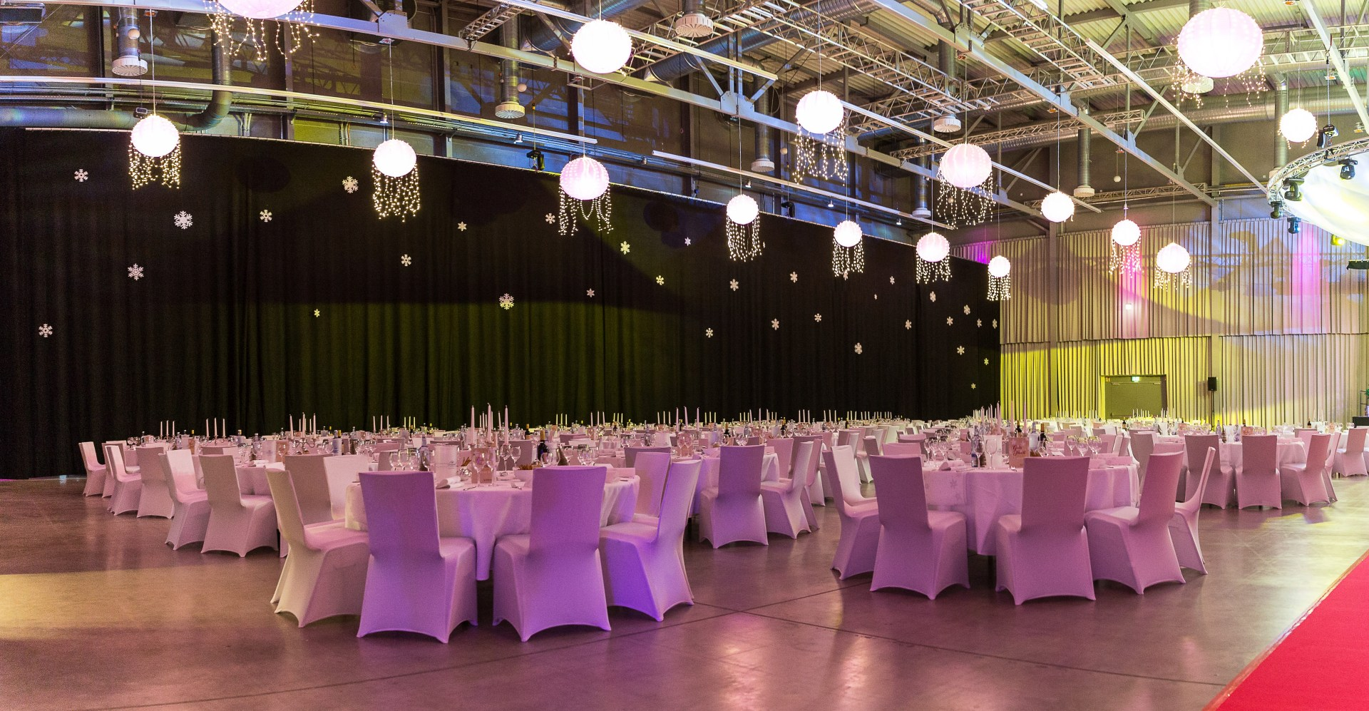 Messehallen Gala Abiball